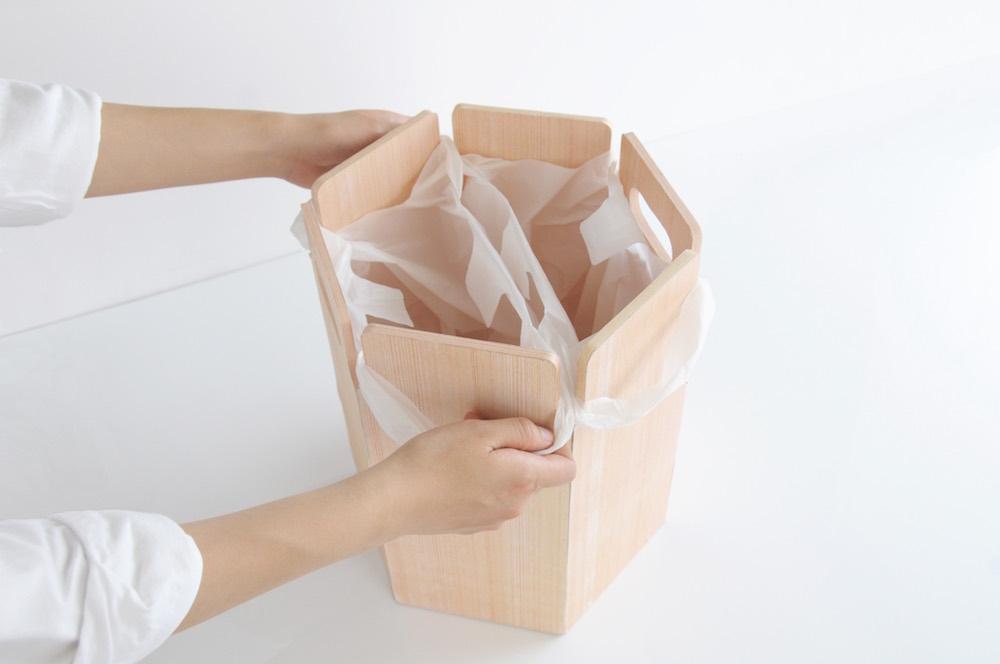 【図・写真】学生のアイデアを基に商品化が進められた「木礼」