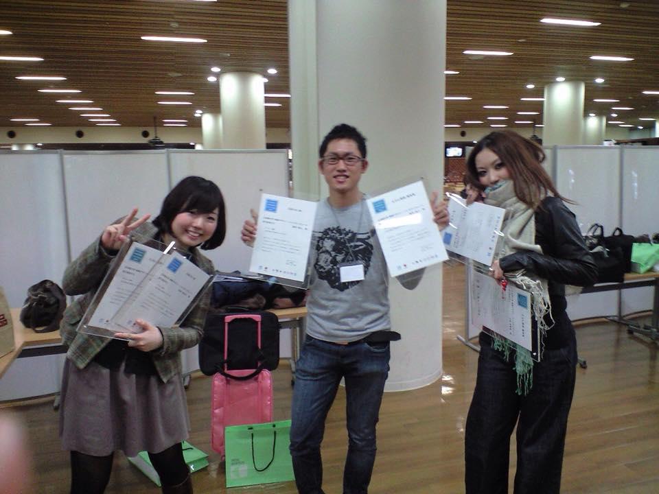 左より、松林加代子さん、富田逸人さん、小泉ゆかりさん