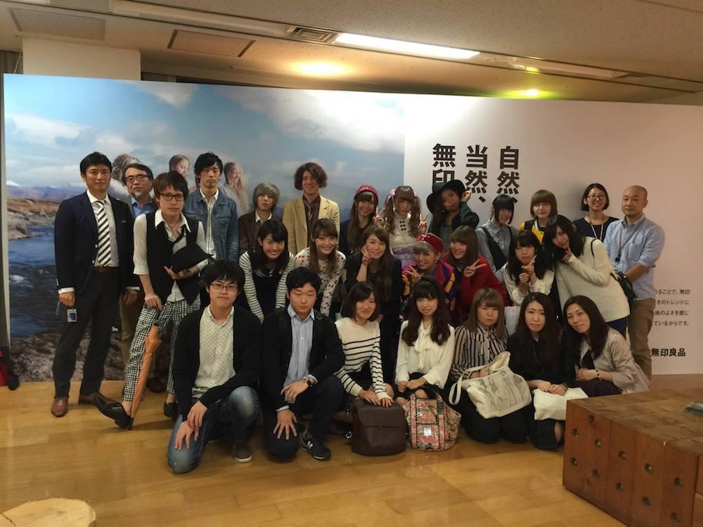 2014年度キックオフ 良品計画本社にて(ファッションカレッジ桜丘と合同)